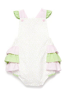 Petit Ami Rosebud Print Bodysuit Baby/Infant Girls