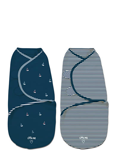 SwaddleMe® 2-Pack Small Original Sailboats Swaddle