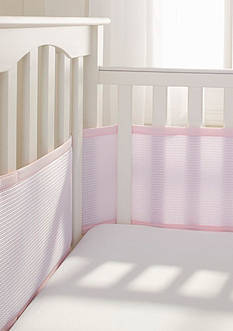 BreathableBaby® Deluxe Cable Weave Mesh Crib Liner