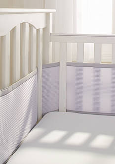 BreathableBaby® Deluxe Cable Weave Mesh Breathable Mesh Crib Liner