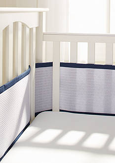 BreathableBaby® Deluxe Cable Weave Breathable Mesh Crib Liner
