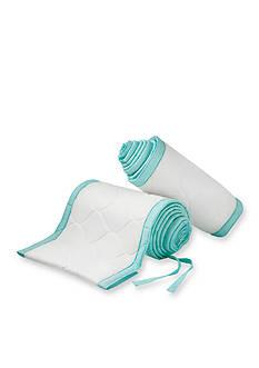 BreathableBaby® Deluxe Embossed Mesh Crib Liner