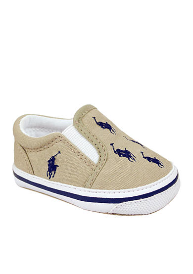 Ralph Lauren Childrenswear Bal Harbour Repeat Beige Shoes