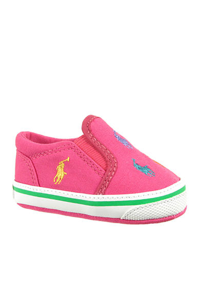 Ralph Lauren Childrenswear Bal Harbour Repeat Pink Shoes - Online Only
