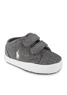 Ralph Lauren Childrenswear Chambray Ethan EZ Sneakers