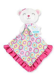 Nursery Rhyme Rainbow Bear Security Blanket