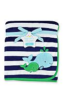 Nursery Rhyme® Whale Plush Blanket