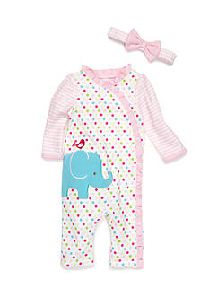 Nursery Rhyme® 2-Piece Elephant Sleep Set