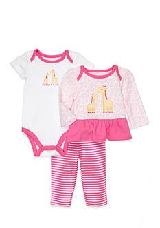 Nursery Rhyme 3-Piece Giraffe Legging Set
