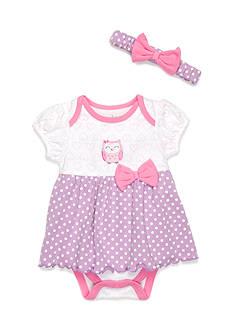 Nursery Rhyme 2-Piece Owl Dress Set
