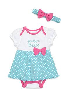 Nursery Rhyme Southern Belle Polka Dot Dress