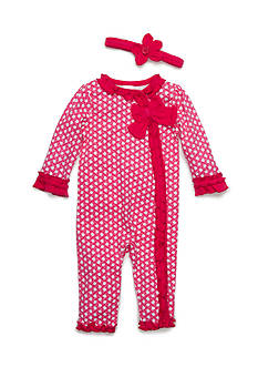 Nursery Rhyme® Dot Coverall Infant/Baby Girls