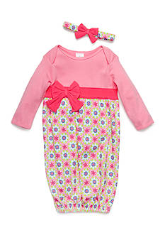 Nursery Rhyme® Gown and Headband Set