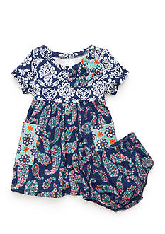 Nursery Rhyme Paisley Dress