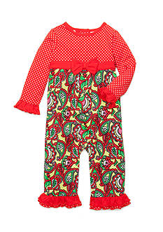 Nursery Rhyme® Paisley Coverall Infant/Baby Girls
