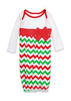 Nursery Rhyme Chevron Gown Infant/Baby Girls