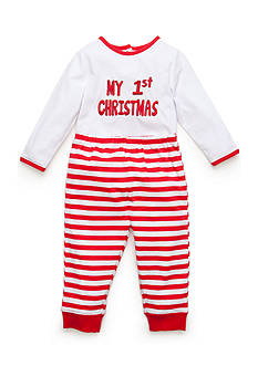 Nursery Rhyme 'My 1st Christmas' Bodysuit and Pants Set