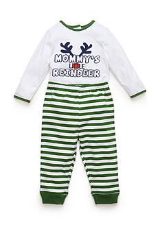 Nursery Rhyme 'Mommy's Little Reindeer' Bodysuit and Pants Set
