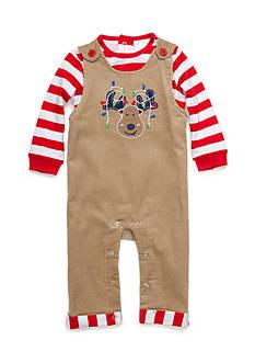 Nursery Rhyme Reindeer Overall Set Infant/Baby Boys