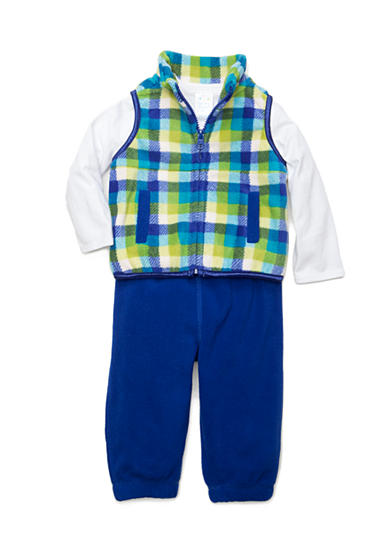 Nursery Rhyme® 3-Piece Bodysuit Vest Set Infant/Baby Boys