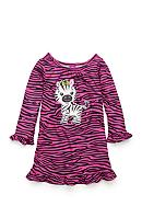 J. Khaki® Zebra Night Gown Toddler Girls