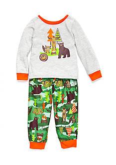 J. Khaki Graphic Camo Pajama Set Toddler Boys