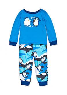 J. Khaki Graphic Pajama Set Toddler Boys