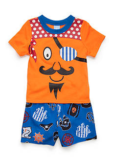 J. Khaki 2-Piece Pirate Pajama Set Toddler Boys