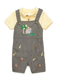 Nursery Rhyme 2-Piece Shirt and Shortalls Set