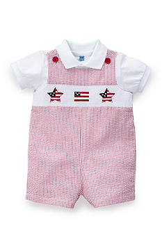 Nursery Rhyme® Smocked Shortall 2-Piece Set