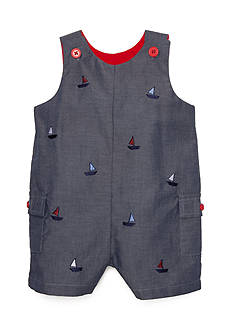Nursery Rhyme® Embroidered Boat Shortall