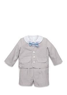 Nursery Rhyme 3-Piece Seersucker Suit
