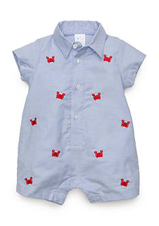 Nursery Rhyme® Chambray Crab Romper