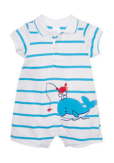 Nursery Rhyme® Stripe Polo Romper