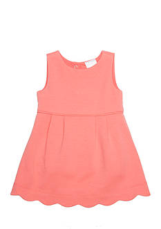 Nursery Rhyme Scalloped Dress