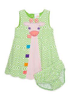 Nursery Rhyme Giraffe Patterned Dress