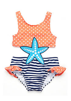 Nursery Rhyme Starfish Cutout One Piece