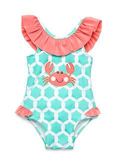 Nursery Rhyme Crab One Piece Bathing Suit
