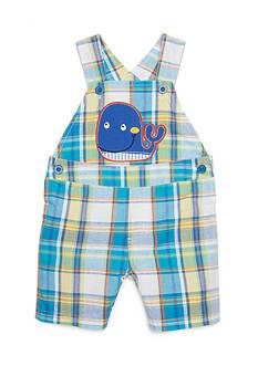 Nursery Rhyme Plaid Whale Shortall