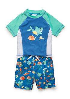 Nursery Rhyme Sharks and Ocean Critters Swim Set