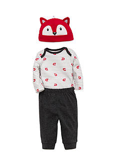 best beginnings® by Little Me 3-Piece Fox Bodysuit, Hat, and Jogger Pants Set