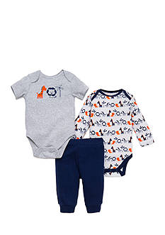 Little Me Infant Boys Safari 3pc Set