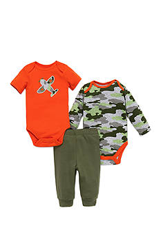 best beginnings® by Little Me 3-Piece Camo Pant Set