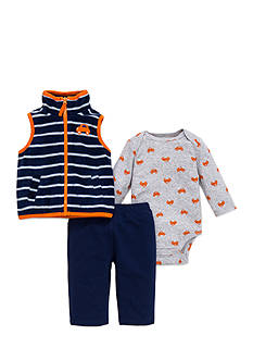 best beginnings® by Little Me Car Microfleece Vest Set