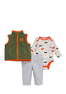 best beginnings® by Little Me Dino Microfleece Vest Set