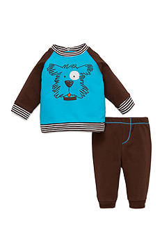 best beginnings® by Little Me Dog 2pc Pant Set