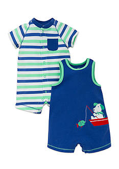 best beginnings® by Little Me 2-Pack Dog Romper Set