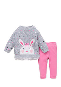 best beginnings® by Little Me Bunny Tunic and Legging Set