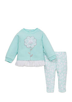 best beginnings® by Little Me Flower Tunic and Legging Set