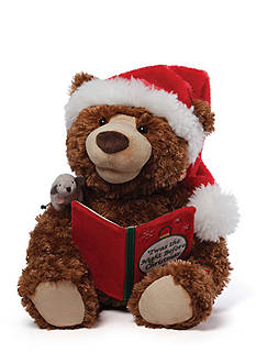 Gund® Story Time Bear Animated Plush